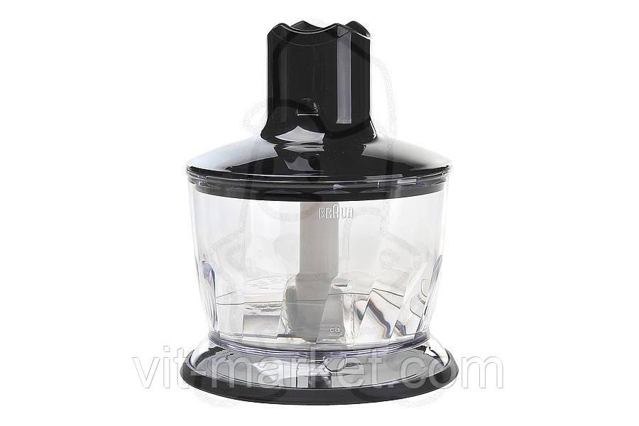 Чаша измельчитель черная CA для блендера Braun код 0X81364498
