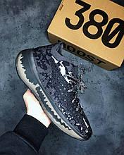 Мужские Кроссовки Adidas Yeezy 380 Black адидас изи буст