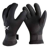 Перчатки для дайвинга неопреновые 5мм р.XL Dolvor mod.3017