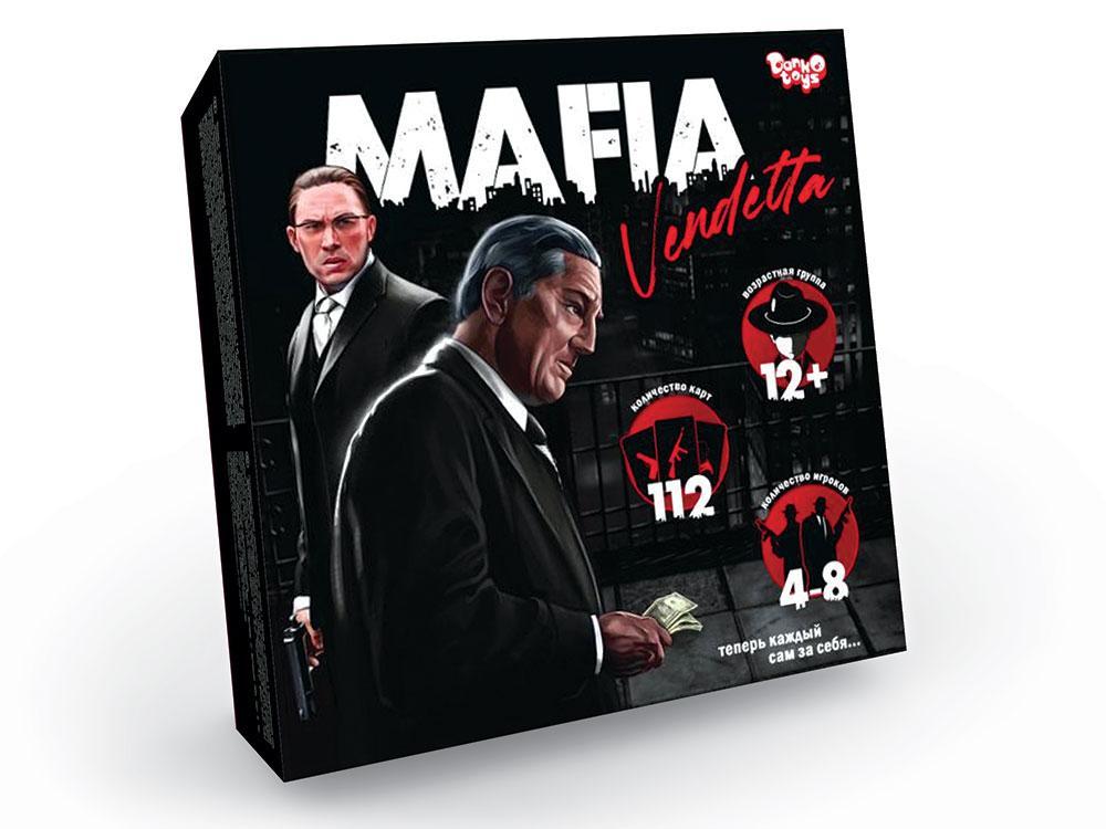 """Игра Danko Toys """"Mafia. Vendetta"""" (Рус) (MAF-01-01)"""