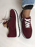 Жіночі кеди - кросівки. Натуральна замша. Розмір 37,38,39, фото 9