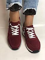 Женские кеды- кроссовки. Натуральная замша. Размер 37,38,39, фото 5