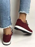 Жіночі кеди - кросівки. Натуральна замша. Розмір 37,38,39, фото 4