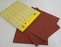 Бумага абразивная водостойкая SIA, красная, P80