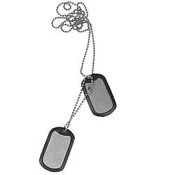 Жетон армейский с глушителем Helikon