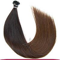 Натуральные славянские волосы на капсулах 45-50 см 100 грамм, Омбре №01С-04