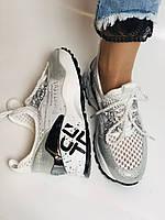 Жіночі кросівки з натуральної шкіри з текстилем.Щільний текстиль. Розмір .37, 39, фото 9