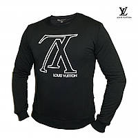 Мужской черный свитшот Louis Vuitton