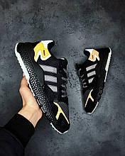Мужские Кроссовки Adidas Nite Jogger Core Black адидас найт джоггер