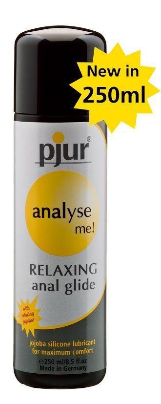 Анальный Лубрикант pjur analyse me! Relaxing jojoba silicone 250 мл на силиконовой основе с жожоба