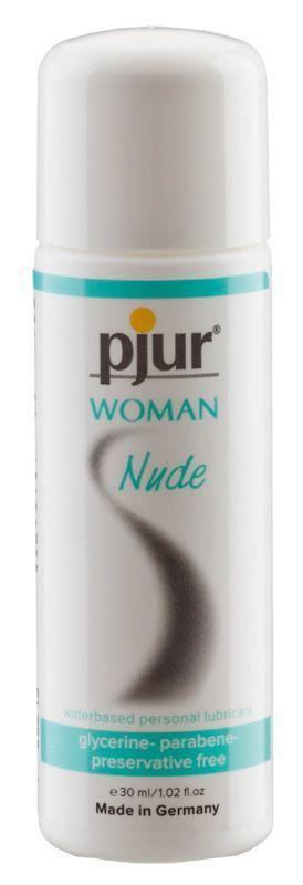 Лубрикант на водной основе pjur Woman Nude 30 мл без консервантов, парабенов, глицерина