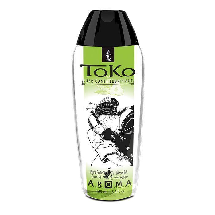 Лубрикант на водной основе Shunga Toko AROMA - Pear & Exotic Green Tea (165 мл)