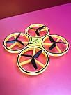 Квадрокоптер Дрон 918 управління з руки Tracker Drone Pro з сенсорним управлінням жестами drone firefly drone, фото 2