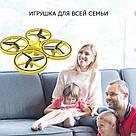 Квадрокоптер Дрон 918 управління з руки Tracker Drone Pro з сенсорним управлінням жестами drone firefly drone, фото 4