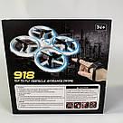 Квадрокоптер Дрон 918 управління з руки Tracker Drone Pro з сенсорним управлінням жестами drone firefly drone, фото 10