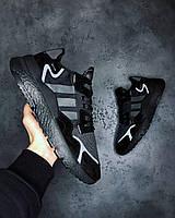 Мужские Кроссовки Adidas Nite Jogger All Black адидас найт джоггер, фото 1