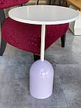 Маленький кавовий столик на одній опорі, фото 6