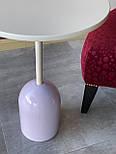 Маленький кавовий столик на одній опорі, фото 3