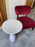 Маленький кофейный столик на одной опоре, фото 4