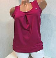 Майка женская фиолетовая Adidas (44957)  код 44д