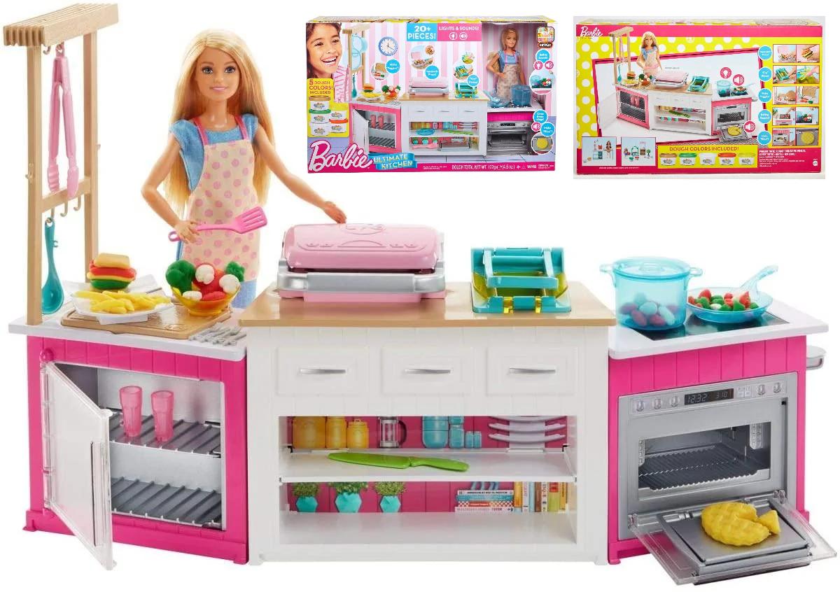 Кукольный набор Барби Готовим вместе / Barbie Ultimate Kitchen