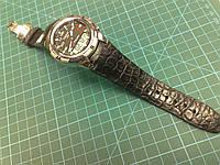 Ремешок из Крокодила для часов Tissot T-Touch 2 Watch , фото 1