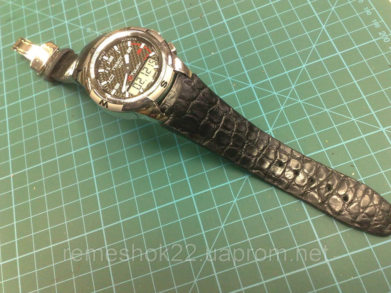 Заказать Ремешок из Крокодила для часов Tissot T-Touch 2 Watch в ... 300167550a9b2