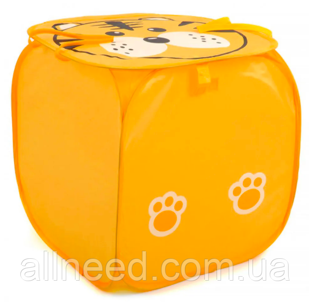 Корзина для игрушек M 2508 (Orange)