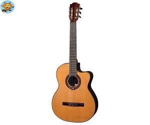 Электроакустическая гитара Lag Occitania OC300CE с нейлоновыми струнами