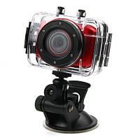 Спортивный видеорегистратор S 020/ F5 с гидро боксом, экшен камера