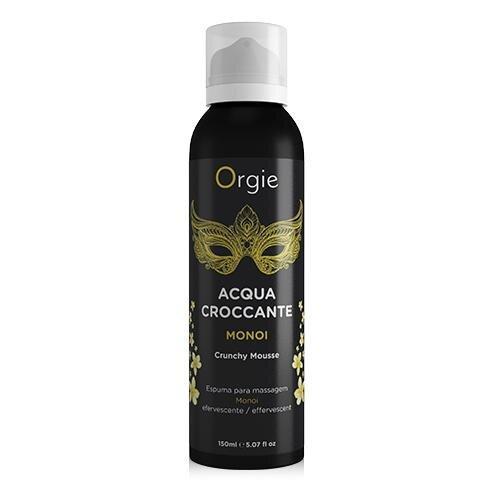Шипуча зволожуюча піна для масажу Acqua Crocante Аромат: Моною з Таїті Orgie (Бразилія-Португалія)