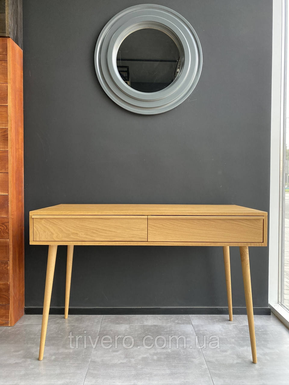 Сучасний стіл з масиву дуба