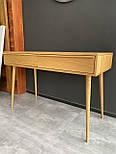 Сучасний стіл з масиву дуба, фото 5