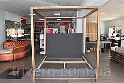 Современная кровать куб