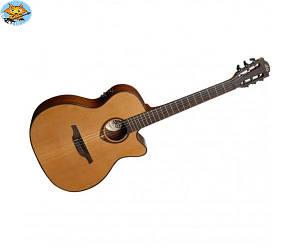 Электроакустическая гитара Lag Tramontane TN200A14CE S/N1001TR04041 с нейлоновыми струнами
