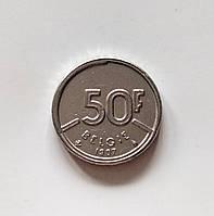 50 франків Бельгія 1987 р., фото 1