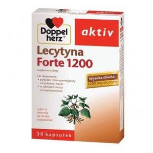 Doppelherz Aktiv, Лецитин 1200 Forte, 30 капсул