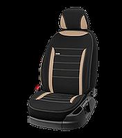 Модельные чехлы на сиденья Renault Duster 2018-2019 раздельный без подлокотника EMC-Elegant 684 Classic