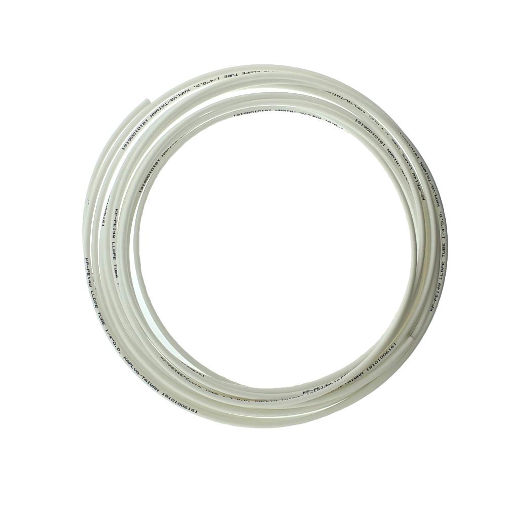 Шланг пластиковый белый 6х4 мм.
