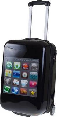 Чемодан двухколесный малый Snapshots The Apps 60101;01, 34 л