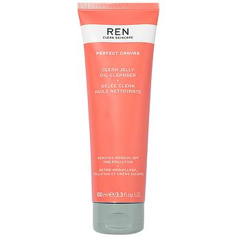 Очищающий гидрофильный гель-желе для лица REN Clean Skincare Perfect Canvas Clean Jelly Oil Cleanser 100 мл