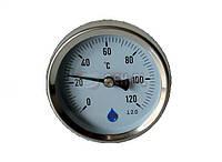 Биметаллический термометр SD Ø63 0-120°C L-40мм