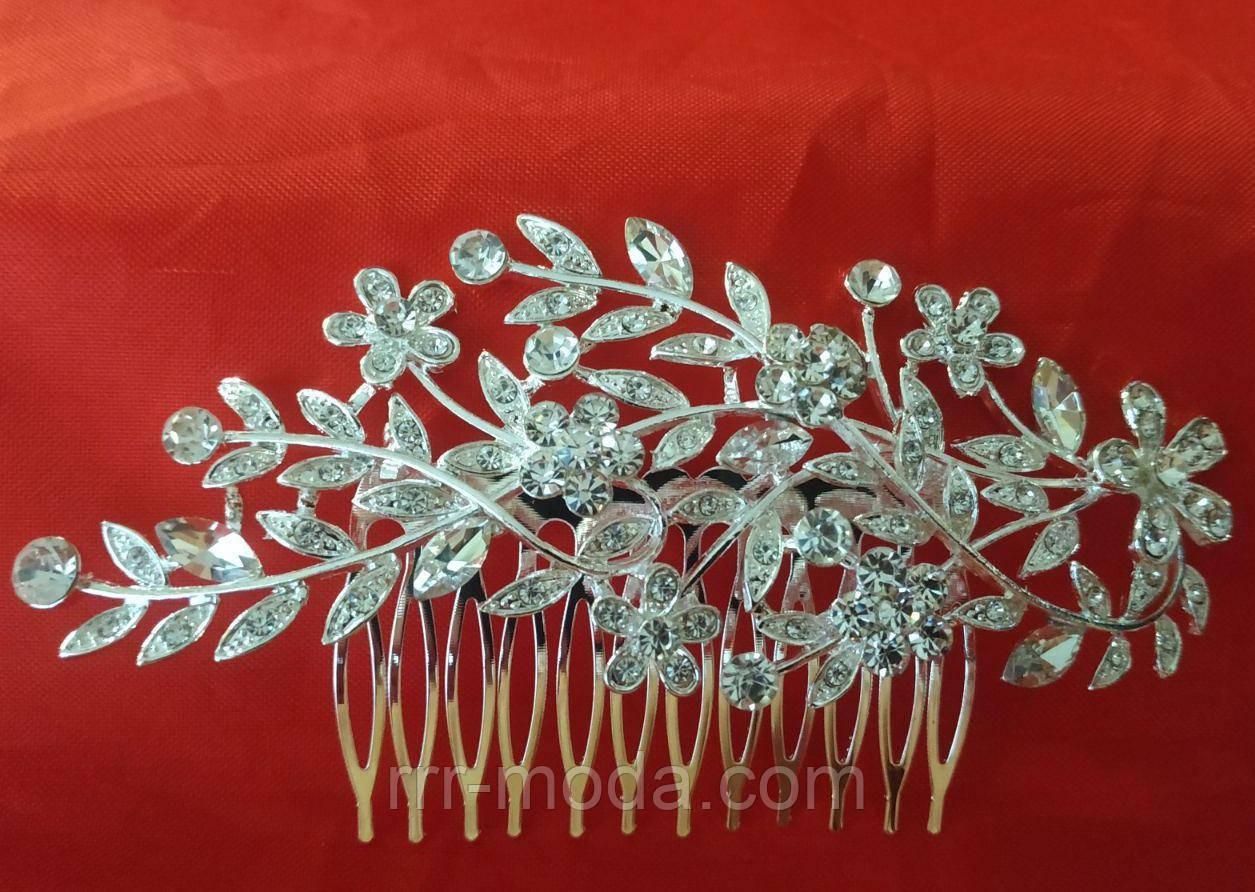 Элитные свадебные украшения- гребень для волос 419