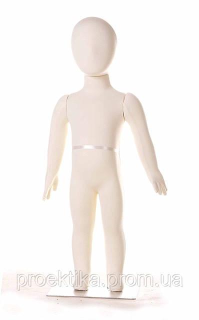 Манекен детский трансформер (обтянутый тканью)