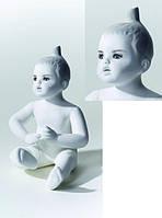 Манекен детский БЕЛЫЙ с макияжем