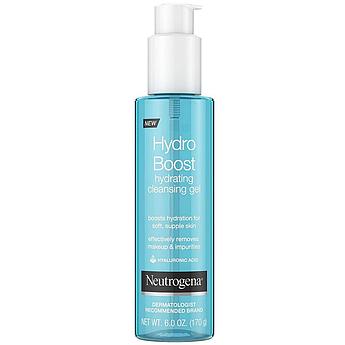 Гель для умывания Neutrogena Hydro Boost Lightweight Hydrating Facial Cleansing Gel 170 г