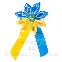 Бутоньєрка жовто-блакитна