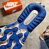 Чоловічі кросівки Nike Air Max 270 React Eng, чоловічі кросівки найк аір макс 270 реактив енг, фото 9