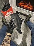 Мужские зимние кроссовки Nike Air Max 90 Sneakerboot Mid Winter Black найк аир макс 90 Ultra MID Winter Black, фото 2