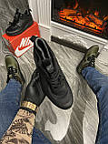Мужские зимние кроссовки Nike Air Max 90 Sneakerboot Mid Winter Black найк аир макс 90 Ultra MID Winter Black, фото 4